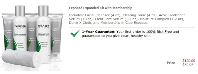 Exposed Skin Care Coupon Code